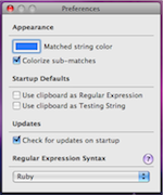 Version 1.3 Preferences